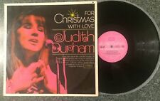 FOR CHRISTMAS WITH LOVE - VINTAGE 12'' LP GC. JUDITH DURHAM - COLLECTORS EDITION