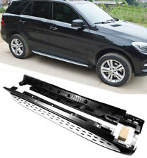 For 2012-2017 Mercedes ML W166 OE Style Running Boards Side Step Nerf Bar
