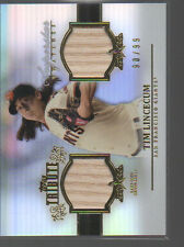 TIM LINCECUM 2013 TOPPS TRIBUTE SUPERSTAR SWATCHES BATS #SS-TL  /99