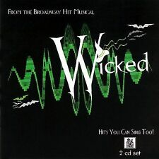 Wicked The Musical: Hits You Can Sing Too!) -  Karaoke (CD 2005) 2 Discs