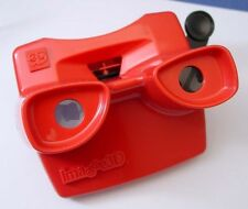 View-Master viewer by Image 3D - RED color - made in the USA