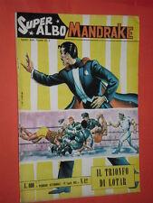 SUPER ALBO SPADA- MANDRAKE -N°42 a - DEL 1963- RARO LIRE 100- SUPERALBO