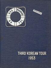 1953 USS MADDOX DD-731, THIRD KOREAN TOUR CRUISE BOOK