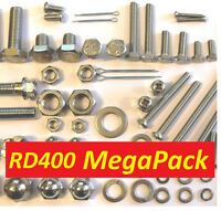 Yamaha RD400 - Nut / Bolt / Screw Stainless Fasteners MegaPack