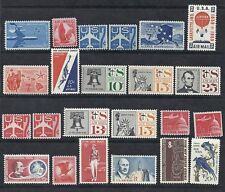 US Airmail/Airpost 1957-1967 MNH Collection Lot Set of 23 w/ Coils*