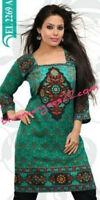 Indian Kurta Designer Crepe tops blouse kurta  Pakistani  Kurtis Tunics Women