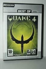 QUAKE 4 GIOCO USATO BUONO STATO PC DVD VERSIONE ITALIANA RS2 41553
