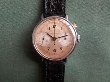 Girard Perregaux, cronografo monopulsante alle ore due, in acciaio.