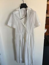GUCCI DRESS UNWORN WITH TAGS ON COTTON WHITE