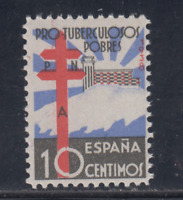 ESPAÑA (1938) NUEVO SIN FIJASELLOS MNH SPAIN - EDIFIL 866 (10 cts) LOTE 5