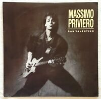 "MASSIMO PRIVIERO⚠️Promo/Unplayed 1988-7""-Rock Band/San Valentino-2472097-WEA-D"