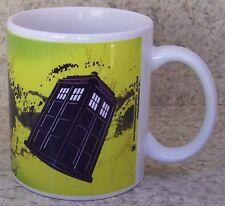 Coffee Mug Entertainment Dr Doctor Who Tardis New 11 ounce cup with gift box