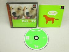 PET IN TV WITH MY DEAR DOG PS1 Playstation PS Import JAPAN Video Game p1