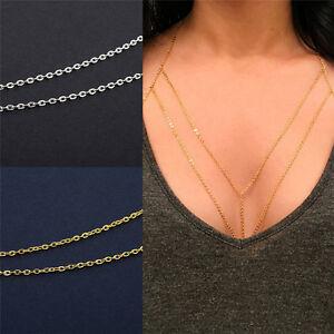 Bikini Beach Crossover Waist Belt Belly Body Chain Harness Necklace Jewelry B_cd