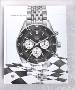 RARE Genuine triple signed book Tag Heuer Autavia Story of an Icon ltd 1 of 50