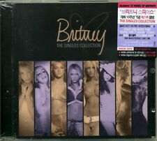 Britney Spears -The Singles Collection 20 Page Booklet Korea Import Audio CD New