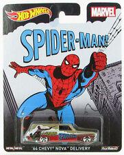 Hot Wheels 2015 Pop Culture MARVEL SPIDER-MAN 1964 CHEVROLET NOVA DELIVERY Car