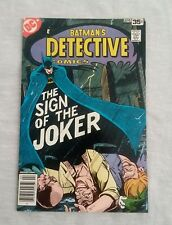 DETECTIVE COMICS #476 BATMAN JOKER LAUGHING FISH MARSHALL ROGERS 1978