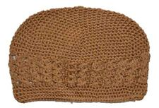 Kufi Hat Crochet Cap Beanie Tan