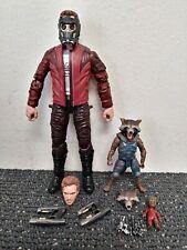 Marvel Legends Guardians of the Galaxy Vol 2 Star-Lord & Rocket Racoon MCU Lot