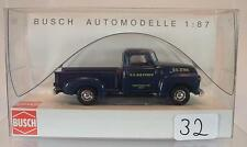 Busch 1/87 48206 Chevrolet pick-up camionnette us air force usa OVP #032