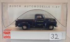 Busch 1/87 48206 chevrolet pick-up furgonetas us air-Force estados unidos OVP #032
