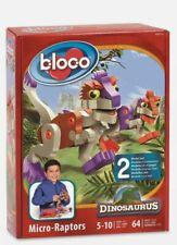 Bloco Construction Toy - Micro-Raptors Foam Building Block Set