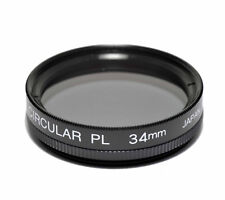34mm High Quality Japanese Glass Polarizing Filter Polarizer CPL