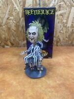 "Beetlejuice 8"" Extreme Head Knocker Fgure NECA Bobble Head - Boxed"