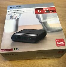 Belkin 54 Mbps Wireless Access Point / Router & 4-Port Switch - F5D7234UK4-H