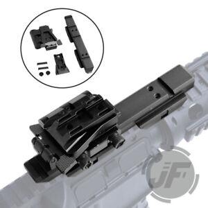 "Magnifier Flip Mount QD Flip-To-Side Left Hand w/ 5/8"" Riser for EOTech G23 G33"
