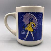 Vintage Morton Salt Coffee Advertising Cup Mug