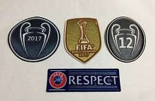 European Championship 2017-18 Patch Set 12 Honour Trophy Respect Real Madrid