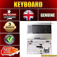 NEW SAMSUNG NP-S3520-S02T GENUINE LAPTOP KEYBOARD WITH TOUCHPAD PALMREST
