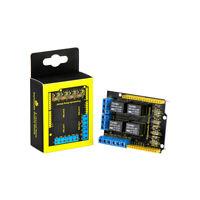 KEYESTUDIO DC 4 Channel Relay Shield 5V Module Board for Arduino UNO R3 EU