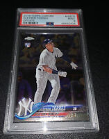 GLEYBER TORRES 2018 TOPPS CHROME UPDATE #HMT9 ROOKIE RC MINT PSA 9 YANKEES