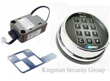Amsec Esl10xl Deadbolt Lock With Polished Chrome Keypad New In Amsec Box