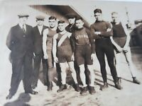VTG Oakland CA Boxing Club Boxers Managers 1920's Original Photo SF Bay Area