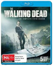 The Walking Dead : Season 5 (Blu-ray, 2015, 5-Disc Set) Brand New Sealed
