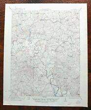 Aylett Virginia Vintage USGS War Department Topo Map 1933 Central Point