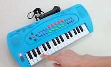 Kids Children Electronic Organ Keyboard Piano Portable toy+Microphone