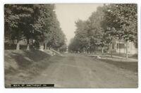 RPPC Main Street SMETHPORT PA McKean County Pennsylvania Real Photo Postcard