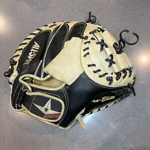 "All-Star Pro Elite CM3000SBT 33.5"" Baseball Catcher's Mitt RHT"