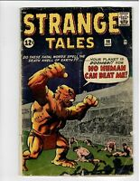 Strange Tales No.98 Marvel 12c Early Silver-Age 1962 Kirby Horror Comic