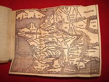 Jules CESAR Rérum gestarum Commentaris 1546 Sébastien GRYPHE avec 2 cartes