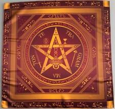 Cloth ceremonial Tetragrammaton Pentagram of power