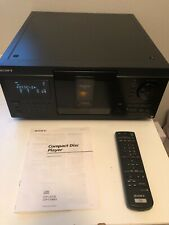 Sony CDP-CX90ES 200 CD Carousel - Untested, In Original Box (preowned)