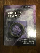 Numerical Analysis, Faires, J. Douglas, Burden, Richard (comes with CD)