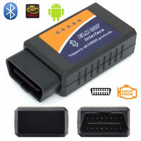 ELM327 WiFi/Bluetooth OBD2 OBDII OBD-II Car Scanner Code Reader Adapter Tool