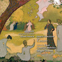ISABELLE FAUST-CESAR FRANCK : SONATE POUR PIANO...-IMPORT CD WITH JAPAN OBI G88